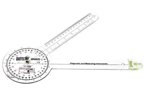 Baseline Axis, Goniometer 360 grader, 30 cm.