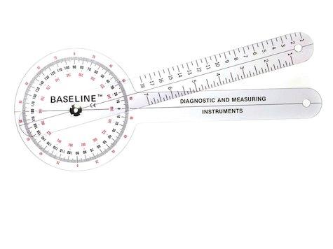Baseline Goniometer 360 grader 30 cm