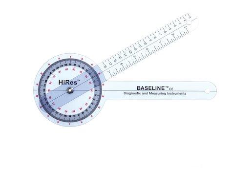 Baseline Hög Resolutions Goniometer 360 gr 30 cm