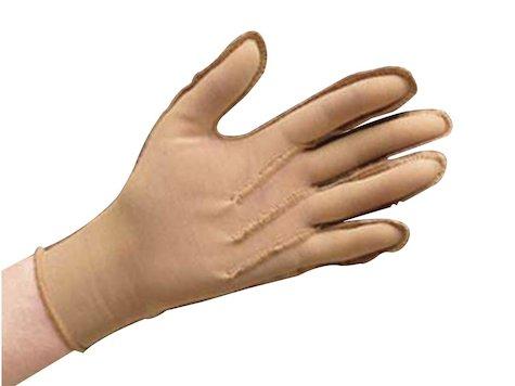 Bio-form® tryckhandske, stängda fingertoppar med velcro spänne, medium.
