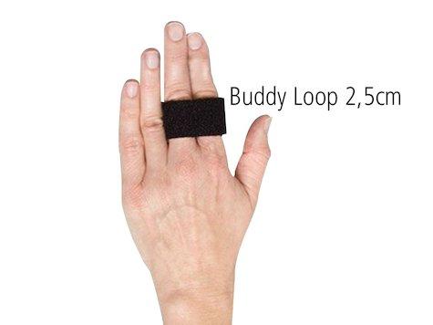 Buddy Loops, 50 st, svart.