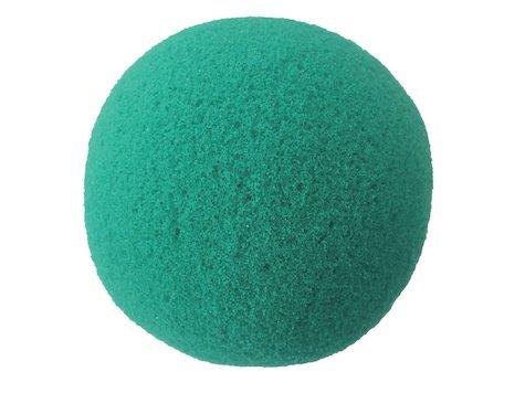 Rund Hand Tränare, grön,  8.9 cm.