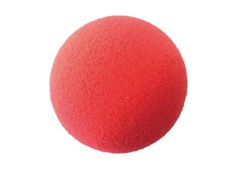 Skumboll  för handträning, Röd 7,6 cm, lätt.