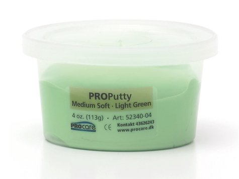Eco-Putty Medium; Ljusgrön (114g)