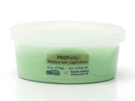 Eco-Putty Medium; Ljusgrön (170g)