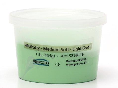 Eco-Putty Medium; Ljusgrön (454g)
