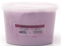 Eco-Putty Medium-mjuk; Rosa (2,3kg)