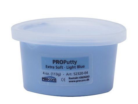 Eco-Putty Mjuk; Ljusblå (114g)