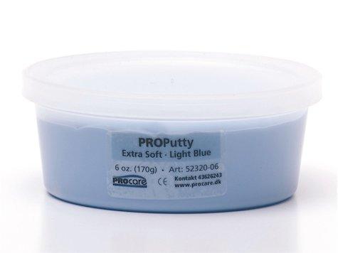 Eco-Putty Mjuk; Ljusblå (170g)