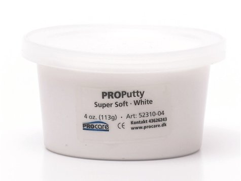 Eco-Putty Supermjuk; Vit (114g)