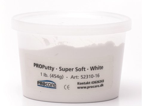 Eco-Putty Supermjuk; Vit (454g)