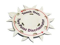 Exacta Touch Test Två Punkt Disk.