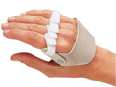 3-punkts Hand Skena för Avikande Fingrar