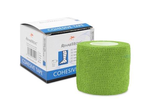 Cohesive Tape 5cm x4,6m Grön (1)