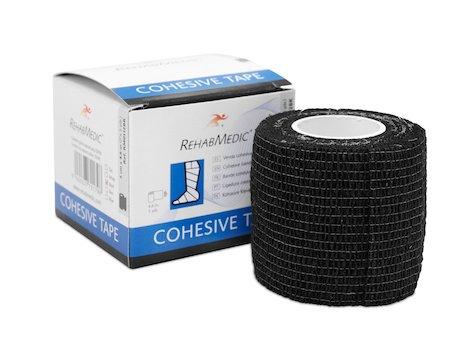 Cohesive Tape 5cm x4,6m Svart (1)