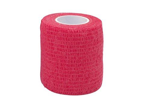 Cohesive Tape 7,5cm x4,6m Röt (1)