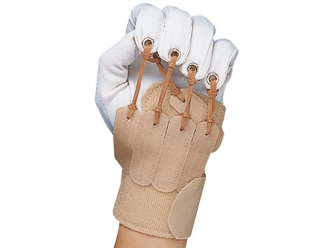 Deluxe Finger/Tum Handske, Höger Hand, Large/Extra-Large.