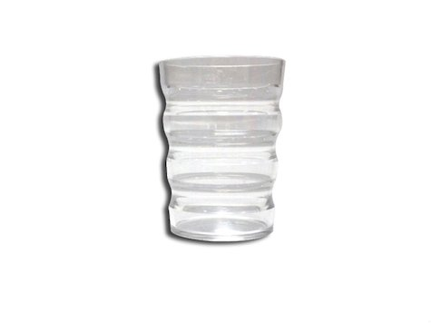 Ergonimiskt Glas, transparent.