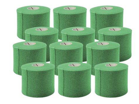 Förberedande Tejp, 7cm x 27,4 m, Grön, (12 st).