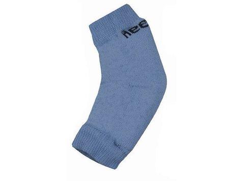 Häl / armbågsskydd med skumfoder, Medium, Blå, (2st).