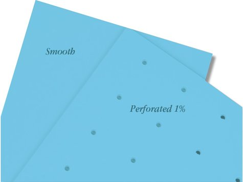 NCM Spectrum, Blå, 46 x 61cm x 3,2 mm,  (4st).