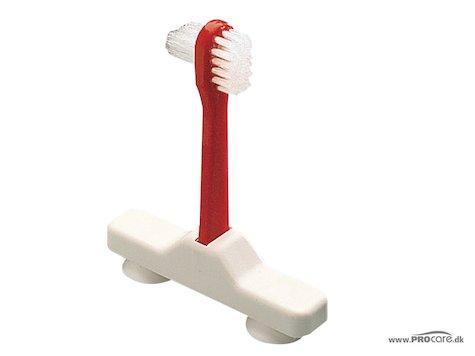 Protes tandborste, röd.