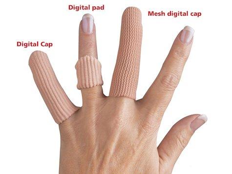 Silopad Mesh Digital Fingertopp (8 st)