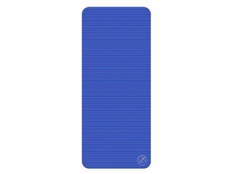 Träningsmatta 140x60x1cm blå