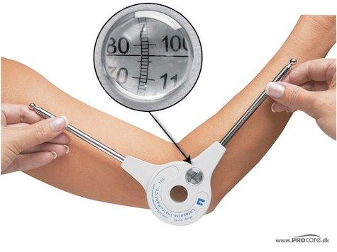 Ihopfällbar Goniometer