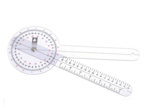 """Goniometer 12"""" (30 cm) med en 1 graders precision."""