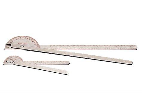 "Goniometer 180 grader 14"" - 36 cm metall."