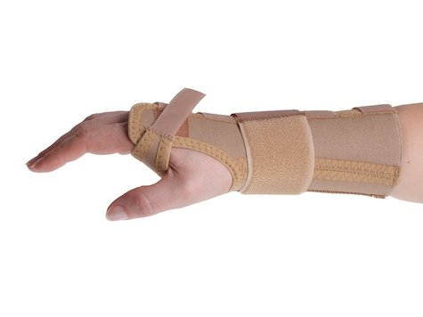 PROmanu 3-dels Vrist Rem, Höger, Medium.