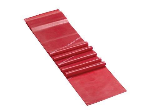 Latexfritt Träningsband, 2,5 m från Theraband, röd (3 av 8).