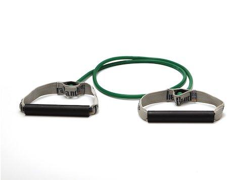 TheraBand Bodytrainer grön, plast handtag.