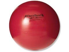 TheraBand boll, ABS, ø 55cm, röd.