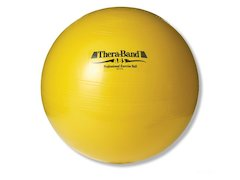 TheraBand boll, ø 45cm, gul.