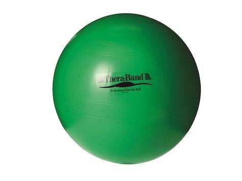 TheraBand boll, ø65cm, grön.