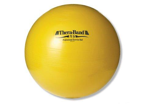TheraBand bollen ABS, ø 45 cm, gul.
