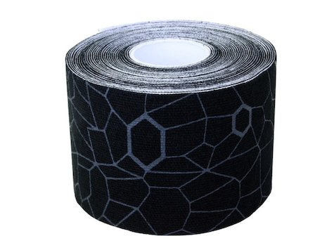 TheraBand Kinesiologitejp svart / grå 25,4 cm (20 stycken)
