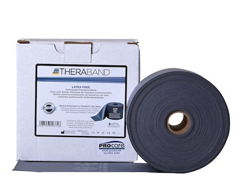 TheraBand latexfritt träningsband 22 m. silver