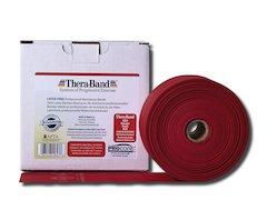 TheraBand latexfritt träningsband 45 m. röd