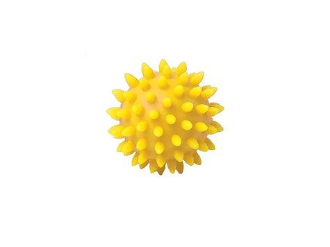 TheraBand Massageboll 8 cm, gul.