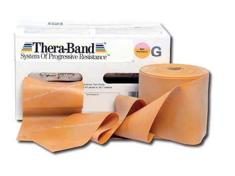 TheraBand Träningsband 45 m. guld