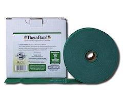 TheraBand träningsband latexfritt ,45 m. grön