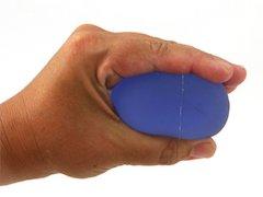 TheraBand träningsboll XL, blå.