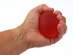TheraBand träningsboll XL, röd.
