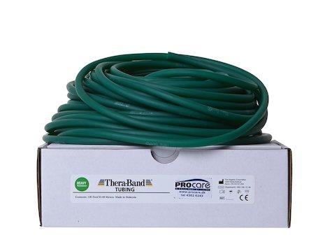 TheraBand, träningsslang, 30,5 m, grön