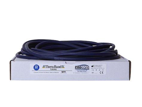 TheraBand Tubing 7, 5m, blå.