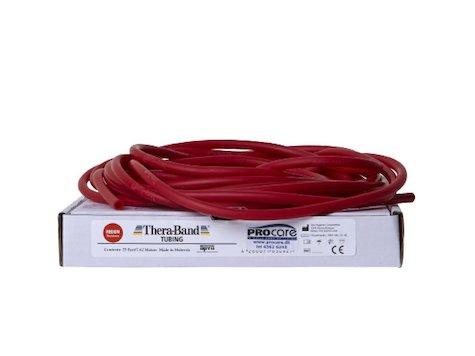 TheraBand Tubing 7,5m, röd.