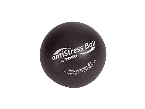 TOGU Anti-Stress Boll, 6,5 cm, antracit.